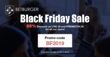 Black Friday Sale from BetBurger
